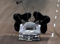 Feb 22, 2014; Chandler, AZ, USA; NHRA funny car driver Cruz Pedregon during qualifying for the Carquest Auto Parts Nationals at Wild Horse Pass Motorsports Park. Mandatory Credit: Mark J. Rebilas-USA TODAY Sports
