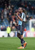 Marcus Bean of Wycombe Wanderers at the final whistle during the Sky Bet League 2 match between Wycombe Wanderers and Barnet at Adams Park, High Wycombe, England on 16 April 2016. Photo by Andy Rowland.