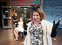 A Mad World My Masters by Thomas Middleton. A Royal Shakespeare Company Production directed by Sean Foley. With Badria Timimi as Waitress, Sarah Ridgeway as Truly Kidman, Ishia Bennison as Mrs Kidman.  Opens at The Swan Theatre Stratford Upon Avon  on 13/6/13. CREDIT Geraint Lewis