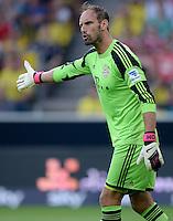 FUSSBALL   1. BUNDESLIGA   SAISON 2013/2014   SUPERCUP Borussia Dortmund - FC Bayern Muenchen           27.07.2013 Torwart Tom Starke (FC Bayern Muenchen)