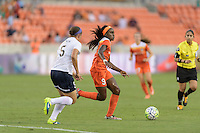 Houston, TX - Thursday Aug. 18, 2016: Chioma Ubogagu during a regular season National Women's Soccer League (NWSL) match between the Houston Dash and the Washington Spirit at BBVA Compass Stadium.