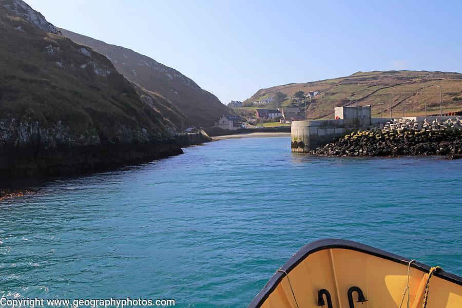 North harbour, Cape Clear Island, County Cork, Ireland, Irish Republic