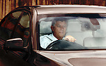 Celtic's Peter Lawwell leaving the SPL Meeting at Hampden