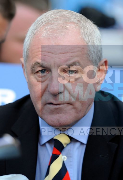Walter Smith manager of Rangers during the Europa League Final match at The Etihad Stadium, Manchester. Picture date 14th May 2008. Picture credit should read: Simon Bellis/Sportimage