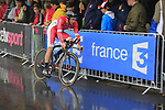 Florian Senechal (FRA) Cofidis in action during Stage 1, a 14km individual time trial around Dusseldorf, of the 104th edition of the Tour de France 2017, Dusseldorf, Germany. 1st July 2017.<br /> Picture: Eoin Clarke | Cyclefile<br /> <br /> <br /> All photos usage must carry mandatory copyright credit (&copy; Cyclefile | Eoin Clarke)