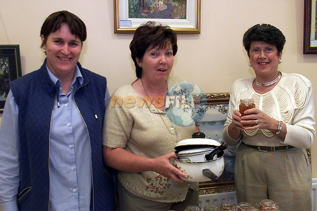 Jane McCabe, Nuala Harmon and Maureen Reilly pictured at Termonfeckin Credit Union coffee day and bring and buy which was organised in order to raise funds for the parish..Picture: Arthur Carron/Newsfile