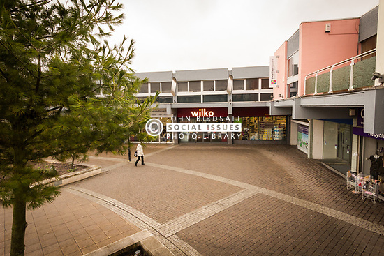 Swanley Square shopping centre, Kent UK 2016