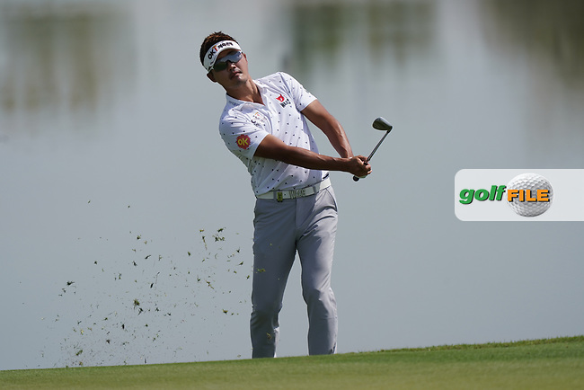 Taehae Lee (KOR) during the third round of the Commercial Bank Qatar Masters 2020, Education City Golf Club , Doha, Qatar. 07/03/2020<br /> Picture: Golffile   Phil Inglis<br /> <br /> <br /> All photo usage must carry mandatory copyright credit (© Golffile   Phil Inglis)