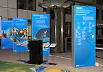 Brussels-Belgium - January 24,  2012 -- 'Our Blue Future' - exhibition at the European Parliament by KDM (Konsortium Deutsche Meeresforschung / German Maritime Research Consortium) -- Photo: H© HorstWagner.eu