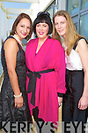 Linda Fitzgerald, Anne O'Neill and Sarah Tobin Tralee at the Kerry Fashion Weekend Fashion Awards Lunch at the Aghadoe Heights Hotel, Killarney on Sunday.