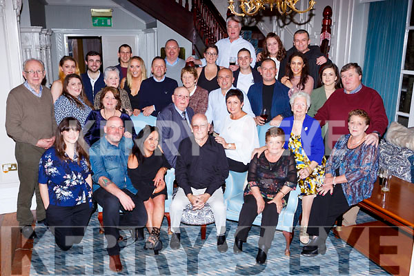 Dermot Flynn Ardshanavooley Killarney celebrated his 80th birthday with his family and friends in the Killarney Avenue Hotel on Saturday night