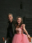 "Joe Mantello and Sally Field during the Broadway Opening Night Performance Curtain Call Bows for ""The Glass Menagerie'"" at the Belasco Theatre on March 9, 2017 in New York City."