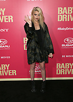 """LOS ANGELES, CA June 14  Sky Ferreira, At Premiere Of Sony Pictures' """"Baby Driver"""" at The Ace Hotel, California on June 143, 2017. Credit: Faye Sadou/MediaPunch"""