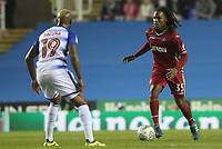 Renato Sanches of Swansea City is marked by Leandro Bacuna of Reading during the Carabao Cup Third Round match between Reading and Swansea City at Madejski Stadium, Reading, England, UK. Tuesday 19 September 2017