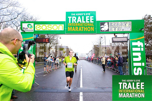 Enda O'Sullivan 1637, who took part in the Kerry's Eye Tralee International Marathon on Sunday 16th March 2014.