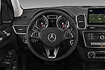 Car pictures of steering wheel view of a 2017 Mercedes Benz GLS-Class GLS450 5 Door SUV Steering Wheel