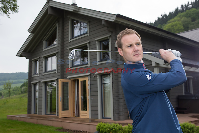 Celtic Manor Resort<br /> Dan Walker<br /> 27.05.16<br /> &copy;Steve Pope - Fotowales