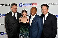 Jason Clarke, Kate Mara, Byron Allen &amp; Ed Helms at the premiere for &quot;Chappaquiddick&quot; at the Samuel Goldwyn Theatre, Los Angeles, USA 28 March 2018<br /> Picture: Paul Smith/Featureflash/SilverHub 0208 004 5359 sales@silverhubmedia.com