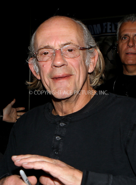 WWW.ACEPIXS.COM....October 13 2012, New York City....Christopher Lloyd at the 2012 New York Comic Con at the Javits Center on October 13, 2012 in New York City....By Line: Nancy Rivera/ACE Pictures......ACE Pictures, Inc...tel: 646 769 0430..Email: info@acepixs.com..www.acepixs.com