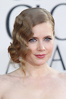 BEVERLY HILLS, CA - JANUARY 13: Amy Adams at the 70th Annual Golden Globe Awards at the Beverly Hills Hilton Hotel in Beverly Hills, California. January 13, 2013. Credit: mpi29/MediaPunch Inc. /NortePhoto