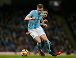 Kevin De Bruyne of Manchester City during the premier league match at the Etihad Stadium, Manchester. Picture date 3rd December 2017. Picture credit should read: Andrew Yates/Sportimage