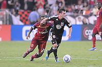 D.C. United midfielder Stephen King (20). D.C. United defeated Real Salt Lake 4-1 at RFK Stadium, Saturday September 24 , 2011.