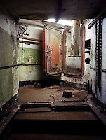 Interior of a former Russian SS-4 nuclear missile base. CHECK with MRM/FNA