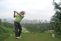 Miguel Angel Jimenez (ESP) on the 3rd tee during Round 3 of the UBS Hong Kong Open 2012, Hong Kong Golf Club, Fanling, Hong Kong. 17/11/12...(Photo Jenny Matthews/www.golffile.ie)