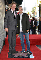 LOS ANGELES, CA. October 25, 2016: Hugh Laurie &amp; David Shore at the Hollywood Walk of Fame star ceremony honoring British actor Hugh Laurie.<br /> Picture: Paul Smith/Featureflash/SilverHub 0208 004 5359/ 07711 972644 Editors@silverhubmedia.com