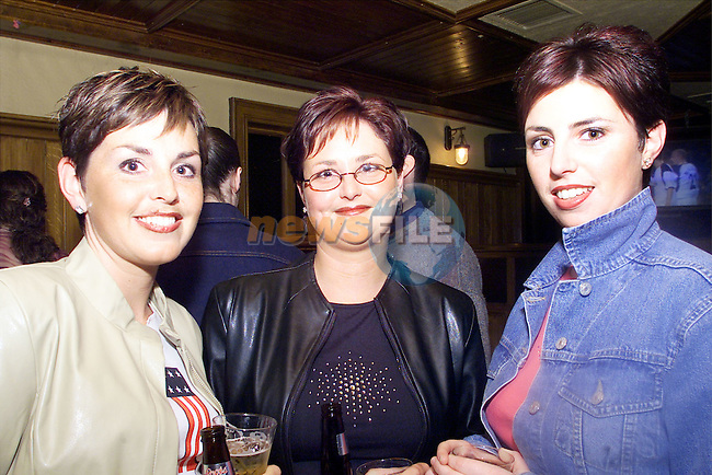 Gillian Reynolds, Cathrine and Fiona Murray, Glenmore Drive pictured enjoying a night in McPhails..Picture: Arthur Carron/Newsfile