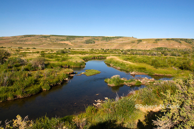 Ham's Fork River in Wyoming