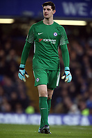 Thibaut Courtois of Chelsea during Chelsea vs Leicester City, Premier League Football at Stamford Bridge on 13th January 2018