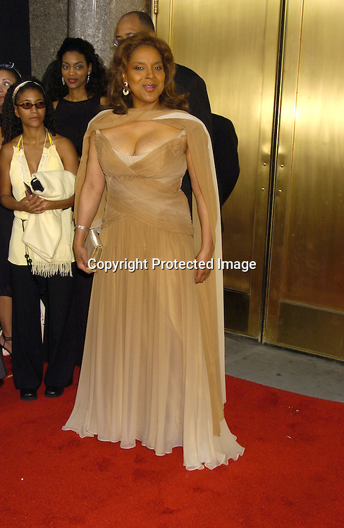 Phylicia Rashad ..arriving at the 59th Annual Tony Awards on June 5, 2005 at ..Radio City Music Hall. ..Photo by Robin Platzer, Twin Images