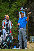 Julian Suri (USA) looks over his tee shot on 14 during Round 3 of the Valero Texas Open, AT&amp;T Oaks Course, TPC San Antonio, San Antonio, Texas, USA. 4/21/2018.<br /> Picture: Golffile   Ken Murray<br /> <br /> <br /> All photo usage must carry mandatory copyright credit (&copy; Golffile   Ken Murray)