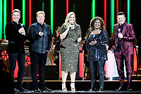 25 September 2019 - Nashville, Tennessee - Trisha Yearwood, Joe Don Rooney, Gary LeVox, Jay DeMarcus, Rascal Flatts, CeCe Winans. 2019 CMA Country Christmas held at the Curb Event Center. Photo Credit: Dara-Michelle Farr/AdMedia