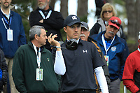 Jordan Spieth (USA) in action at Spyglass Hill Golf Course during the second round of the AT&amp;T Pro-Am, Pebble Beach Golf Links, Monterey, USA. 08/02/2019<br /> Picture: Golffile | Phil Inglis<br /> <br /> <br /> All photo usage must carry mandatory copyright credit (&copy; Golffile | Phil Inglis)