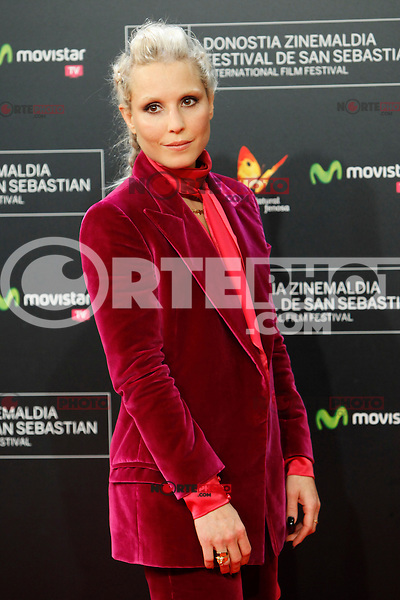 Swedish actress Noomi Rapace presents the film 'The Drop' during the 62st San Sebastian Film Festival in San Sebastian, Spain. September 21, 2014. (ALTERPHOTOS/Caro Marin)