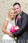 Caoimhe McGuire, NewCastleWest, daughter of Tony&Kay and Brenda Dalton, Rathkeale, son of Frank&Paula who married on March 31st at St Munchins church, Knockaderry. Reverend Edwin Irwin officiated. Bestman was Pat Gilbourne, groomsmen were Johnny Brosnan, Mury O'Connor and David McGuire. 1st bridesmaid was Nicola Brouder, others were Roisin McGuire, Catherine Dalton and Ella Pendergast. Flower girl was Lilly Dalton. The reception was in the Ballyroe heights hotel, Tralee and the couple will reside in Ballygarry, Co Limerick.