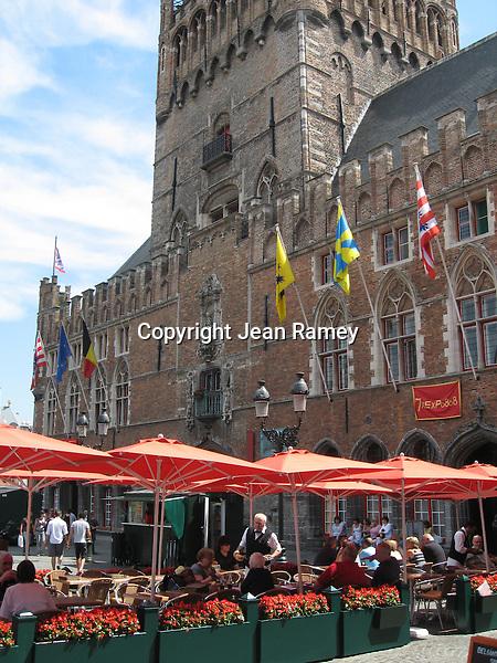 Clock Tower, Brugge, Belgium