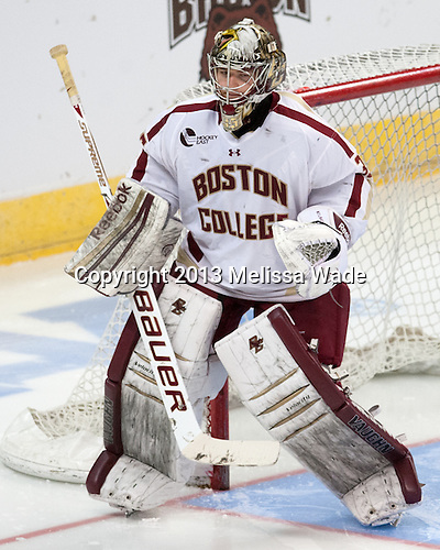 Parker Milner (BC - 35) - The Union College Dutchmen defeated the Boston College Eagles 5-1 on Saturday, March 30, 2013, in their NCAA East Regional semi-final at the Dunkin' Donuts Center in Providence, Rhode Island.