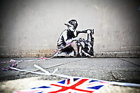 15.05.2012 - Banksy's Graffiti in Turnpike Lane