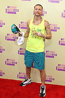 LOS ANGELES, CA - SEPTEMBER 06: Riff Raff at the 2012 MTV Video Music Awards at The Staples Center on September 6, 2012 in Los Angeles, California. © mpi28/MediaPunch inc. /NortePhoto.com<br />
