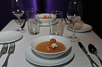 The lobster bisque at 43 North restaurant on Wednesday, 10/27/10, on N. King Street in Madison, Wisconsin