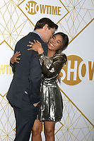 LOS ANGELES - SEP 21:  Andrew Rannells, Regina Hall at the Showtime Emmy Eve Party at the San Vicente Bungalows on September 21, 2019 in West Hollywood, CA
