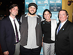 Daniel Everidge and Producer Terry Schnuck & family attending the Off-Broadway Opening Night Performance After Party for 'Falling' at Knickerbocker Bar & Grill on October 15, 2012 in New York City.
