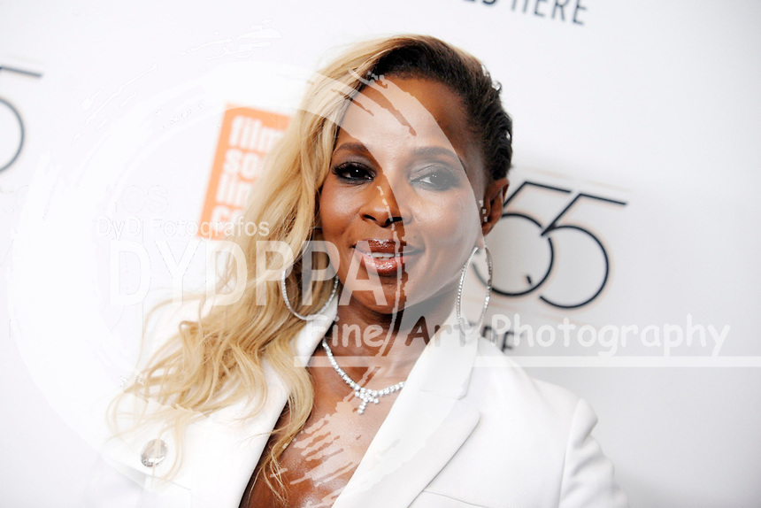 Mary J. Blige bei der Premiere von 'Mudbound' auf dem 55. New York Film Festival in der Alice Tully Hall. New York, 12.10.2017