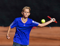 Netherlands, Rotterdam August 05, 2015, Tennis,  National Junior Championships, NJK, TV Victoria, Thieme Thelosen<br /> Photo: Tennisimages/Henk Koster