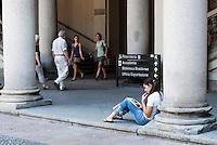 Accademia di belle arti di Brera. Milano, 19 luglio, 2007.  <br />                  <br /> Brera Academy of Fine Arts. Milan, July 19, 2007.