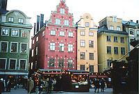 Christmas Market, Gamla Stan, Stockholm