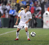 USMNT midfielder Landon Donovan (10)   The USMNT tied Costa Rica 2-2 on the final game of the 2010  FIFA World Cup Qualifying round at RFK Stadium,Wednesday  October 14 , 2009.